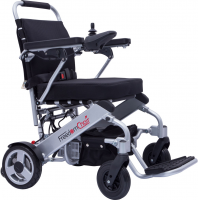 Elektrorollstuhl 6km/h A06 von FreedomChair Reise Elektro-Rollstuhl faltbar Alu