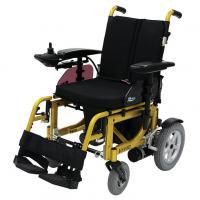Elektro-Rollstuhl Kymco Vivio faltbar, Elektrorollstuhl Farbe Lemon